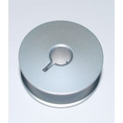 Bobbin aluminum with slot...