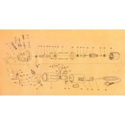 No45 (YJ-65) Knife 6-sided