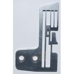 Needle plate for overlock...
