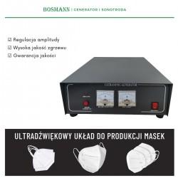 sonotroda do maski, sonotroda, generator do kn95
