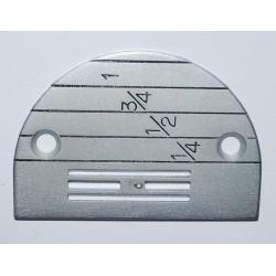 Needle plate E16