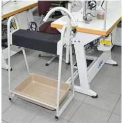Sewing assistant cart with...