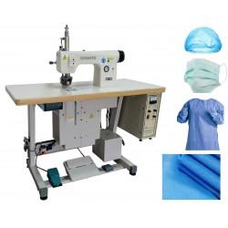 maszyna do szycia odzieży medycznej, szycie ultradźwiękowe